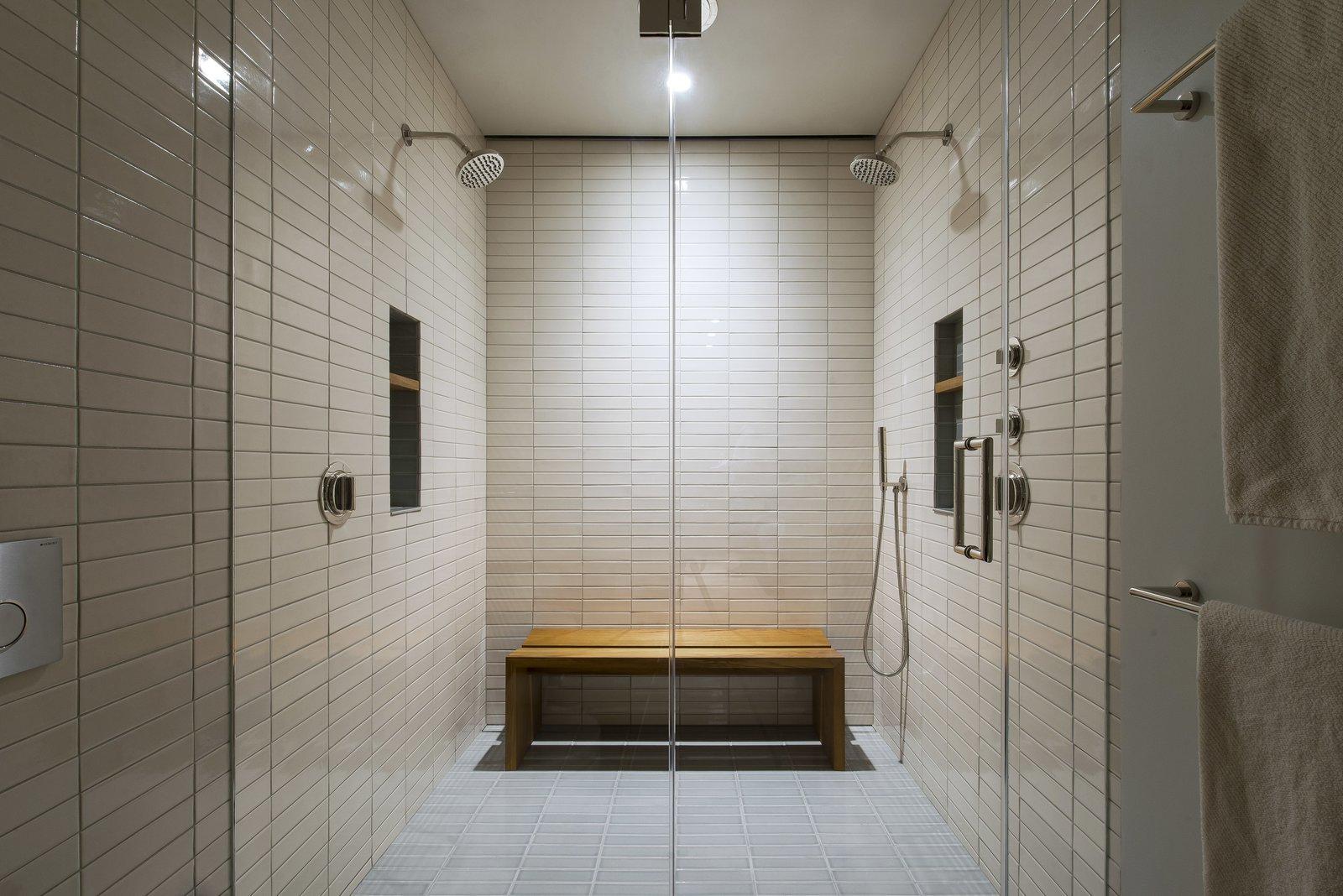 Master Bathroom - Shower  Nob Hill Residence by Imbue Design