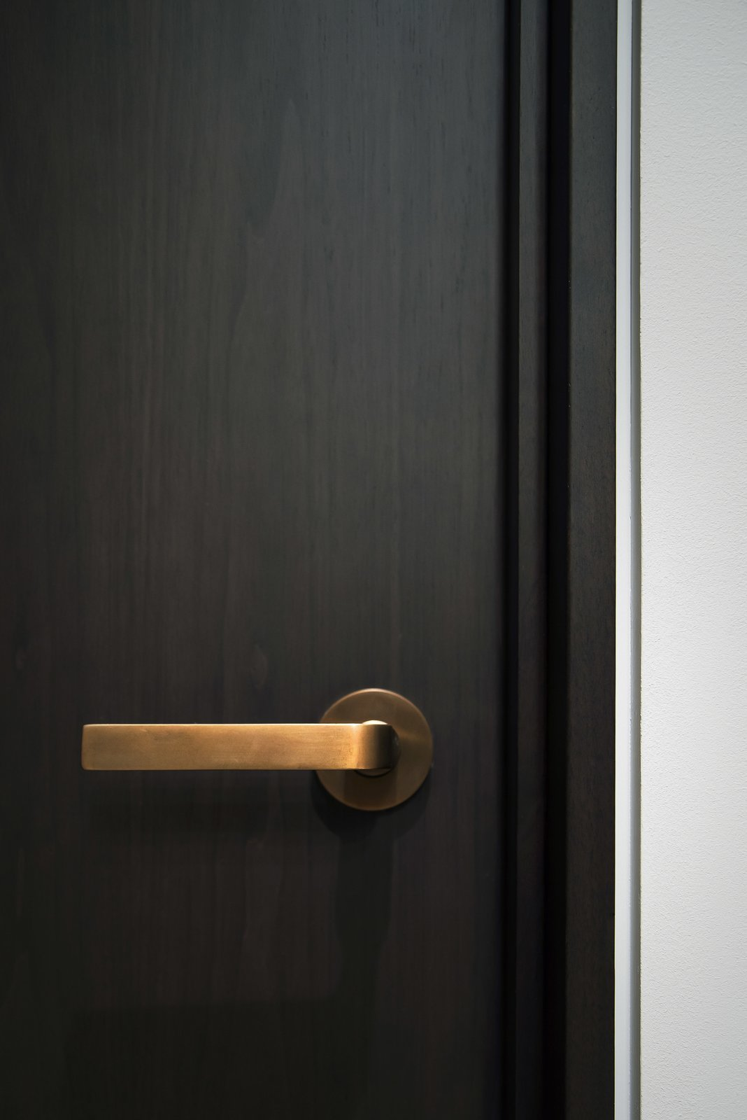 Office - Oil Rubbed Bronze Door Hardware  Nob Hill Residence by Imbue Design