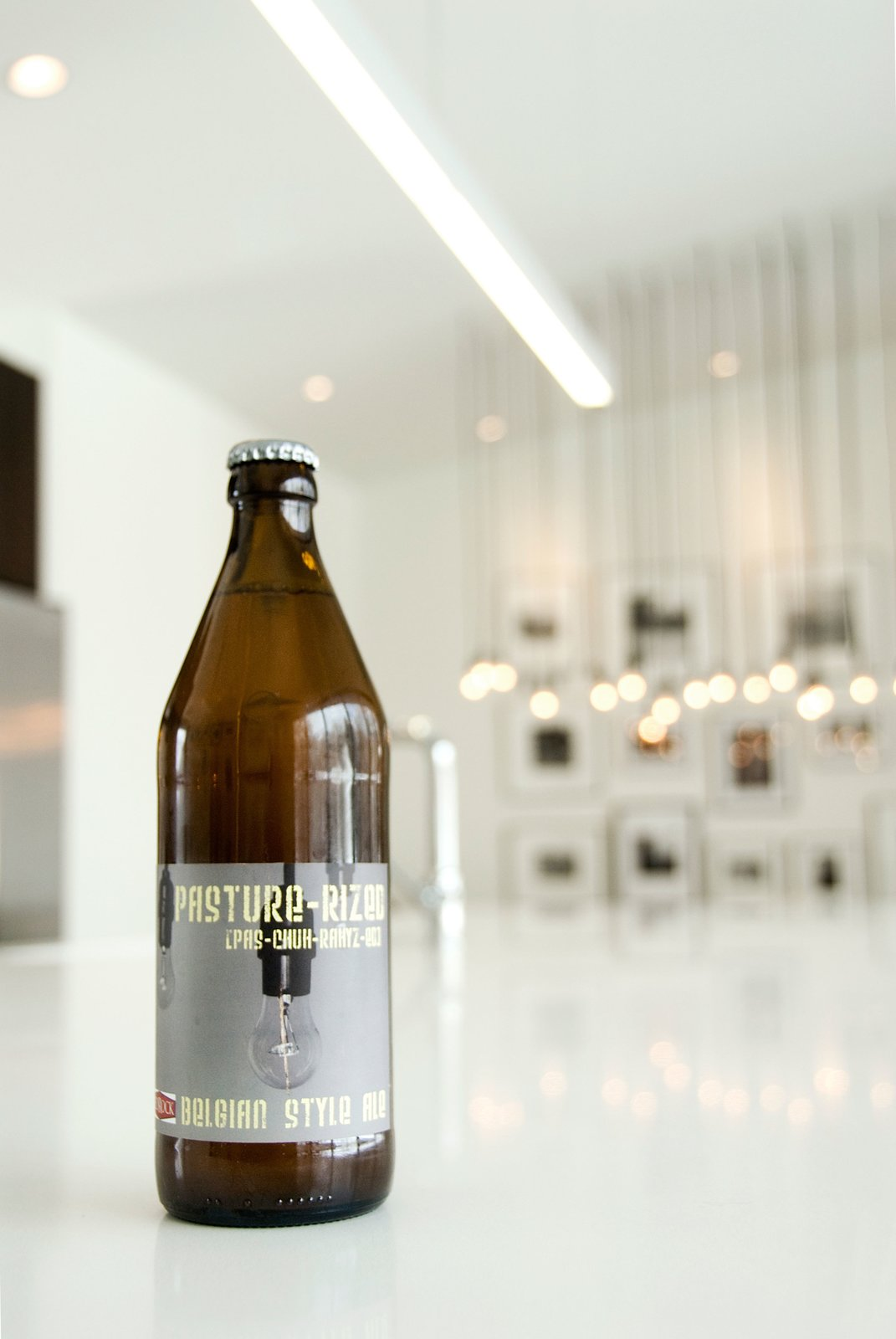 Custom Brewed Beer  Pasture Project by Imbue Design