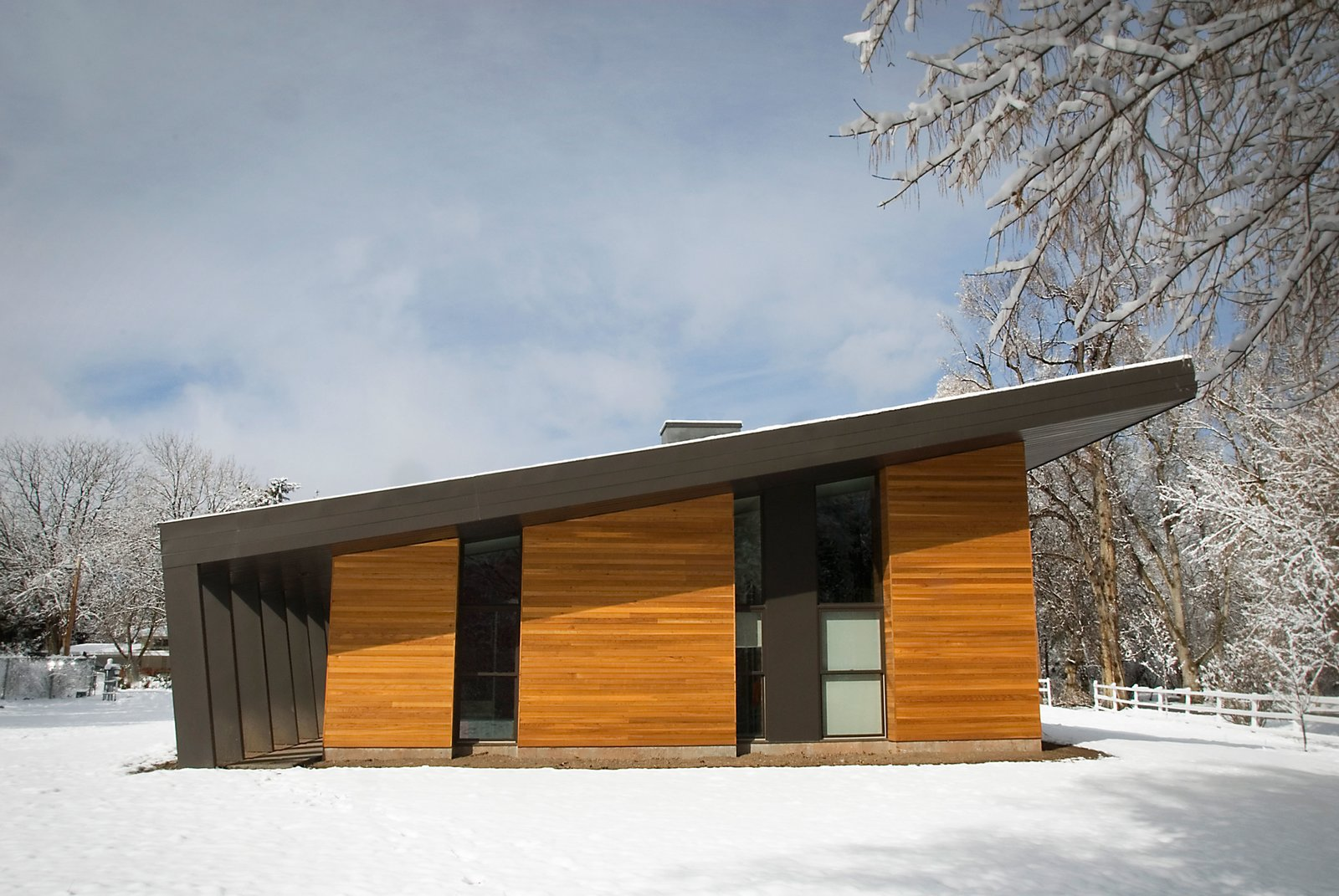 East Facade  Pasture Project by Imbue Design