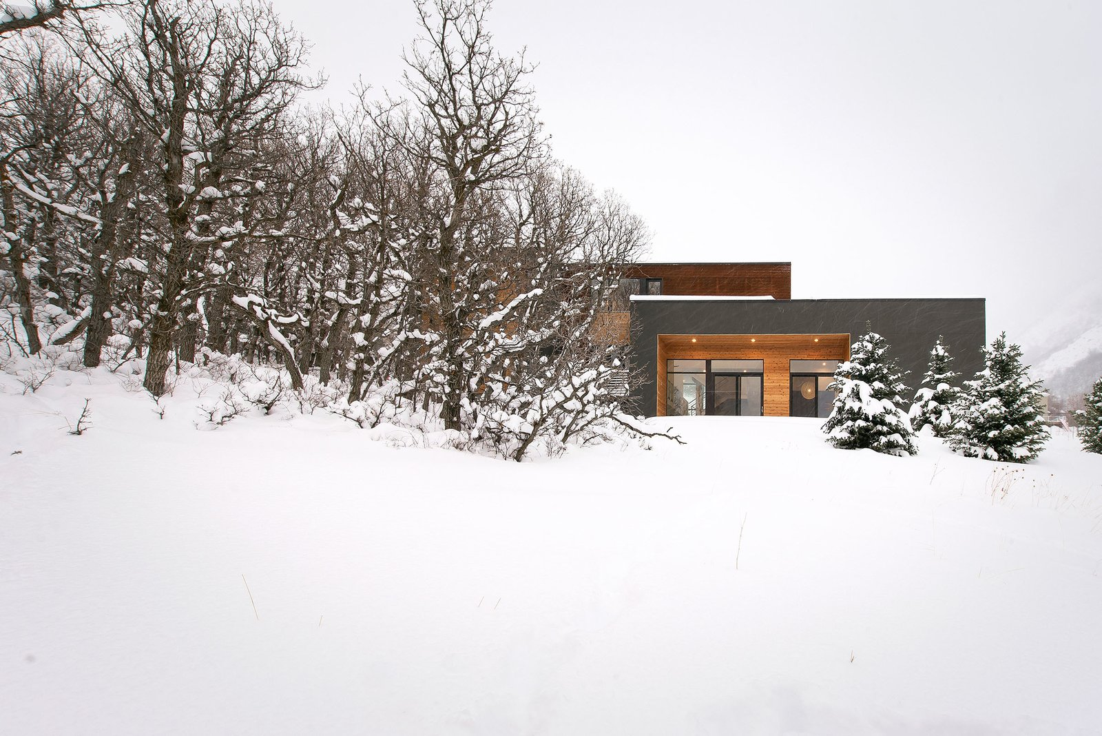 West Facade  Emigration Canyon by Imbue Design
