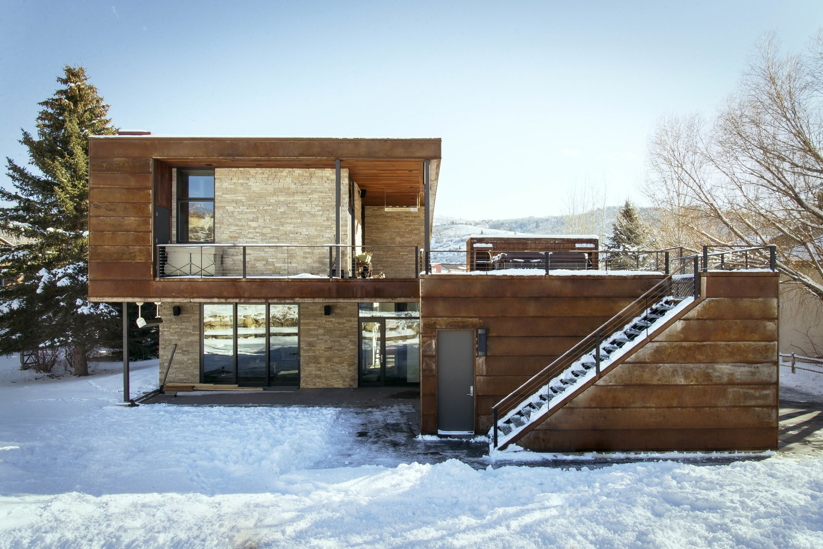 North Elevation  Lucky John Home by Imbue Design