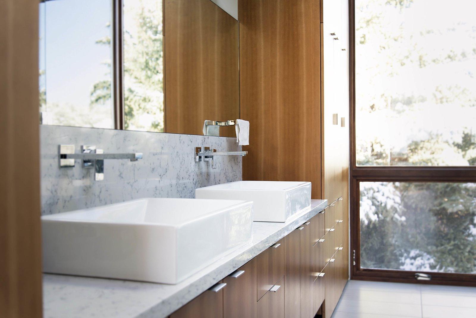 Master Bathroom Vanity  Lucky John Home by Imbue Design