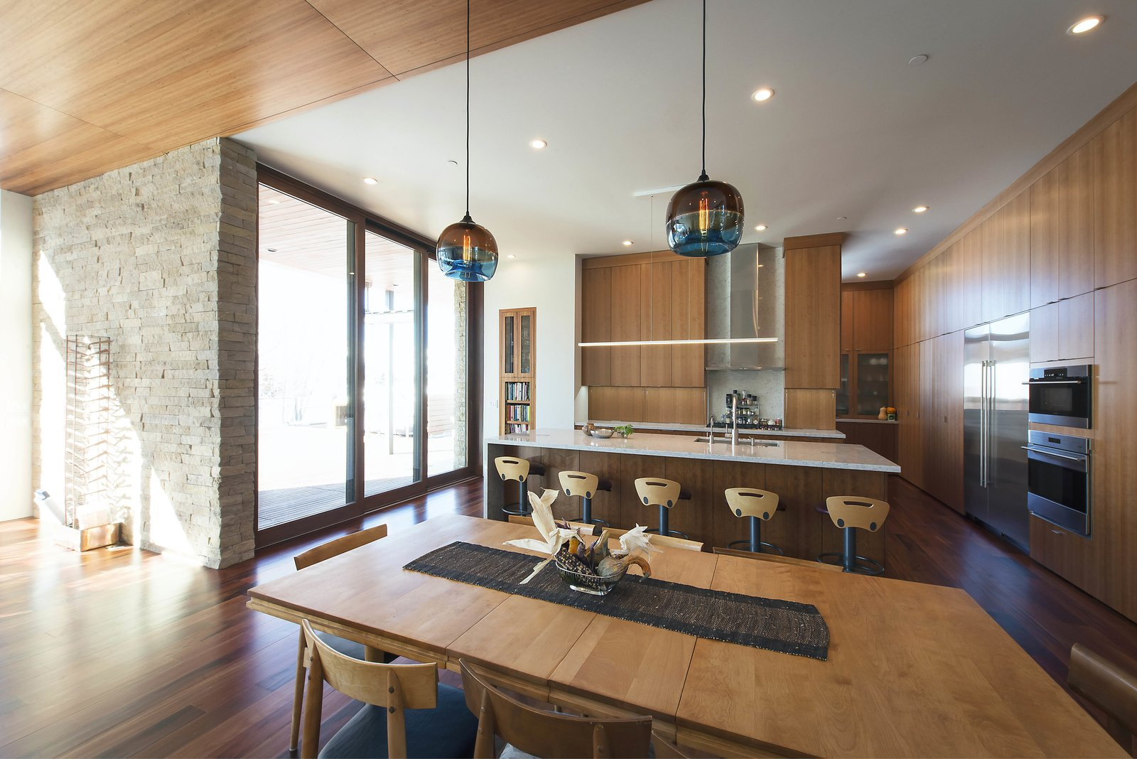 Great Room - Looking Toward Kitchen  Lucky John Home by Imbue Design