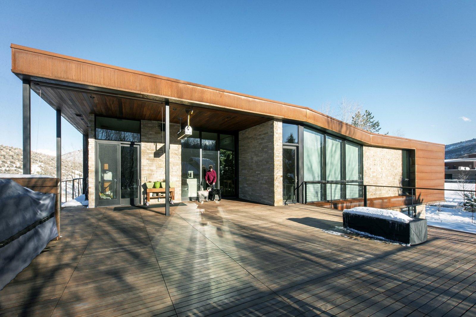 Rooftop Deck  Lucky John Home by Imbue Design