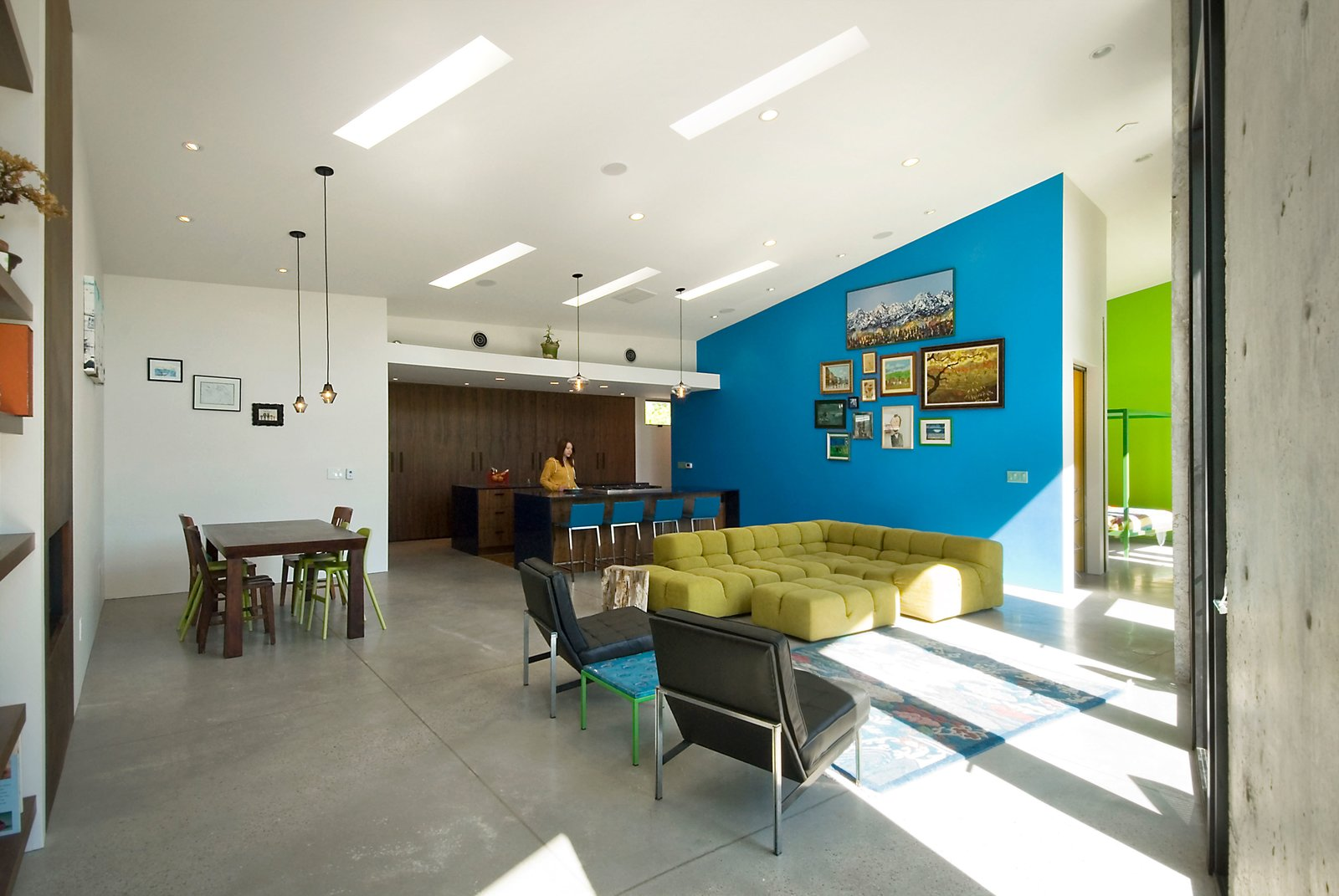 Living Space  Thorn Residence by Imbue Design