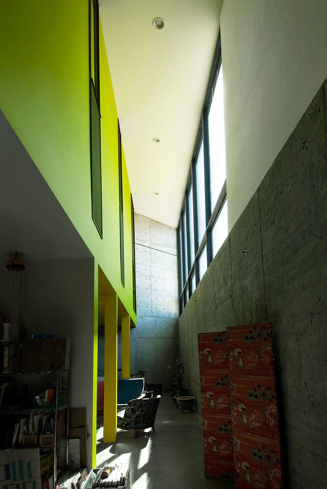 Basement Light Well in Family Room  Thorn Residence by Imbue Design