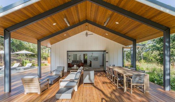 Main House - indoor outdoor space