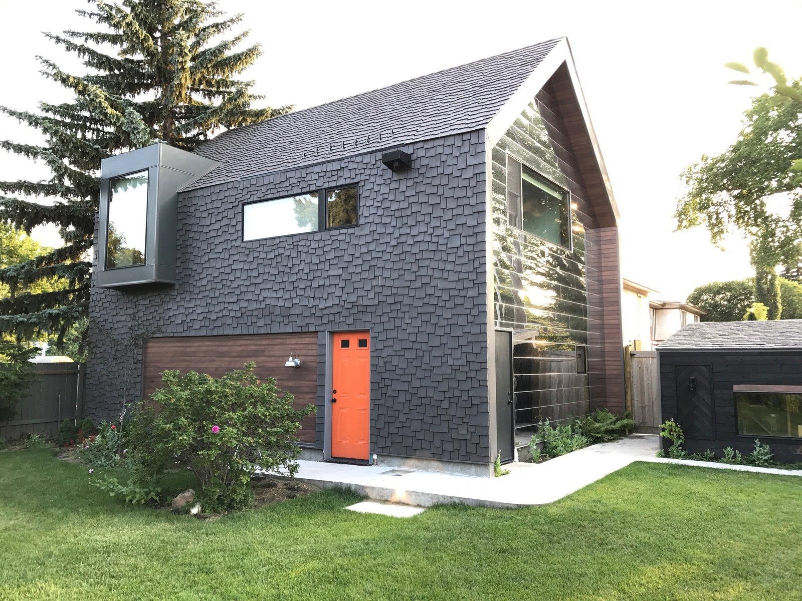 Calder Laneway House Edmonton Modern Home In Edmonton