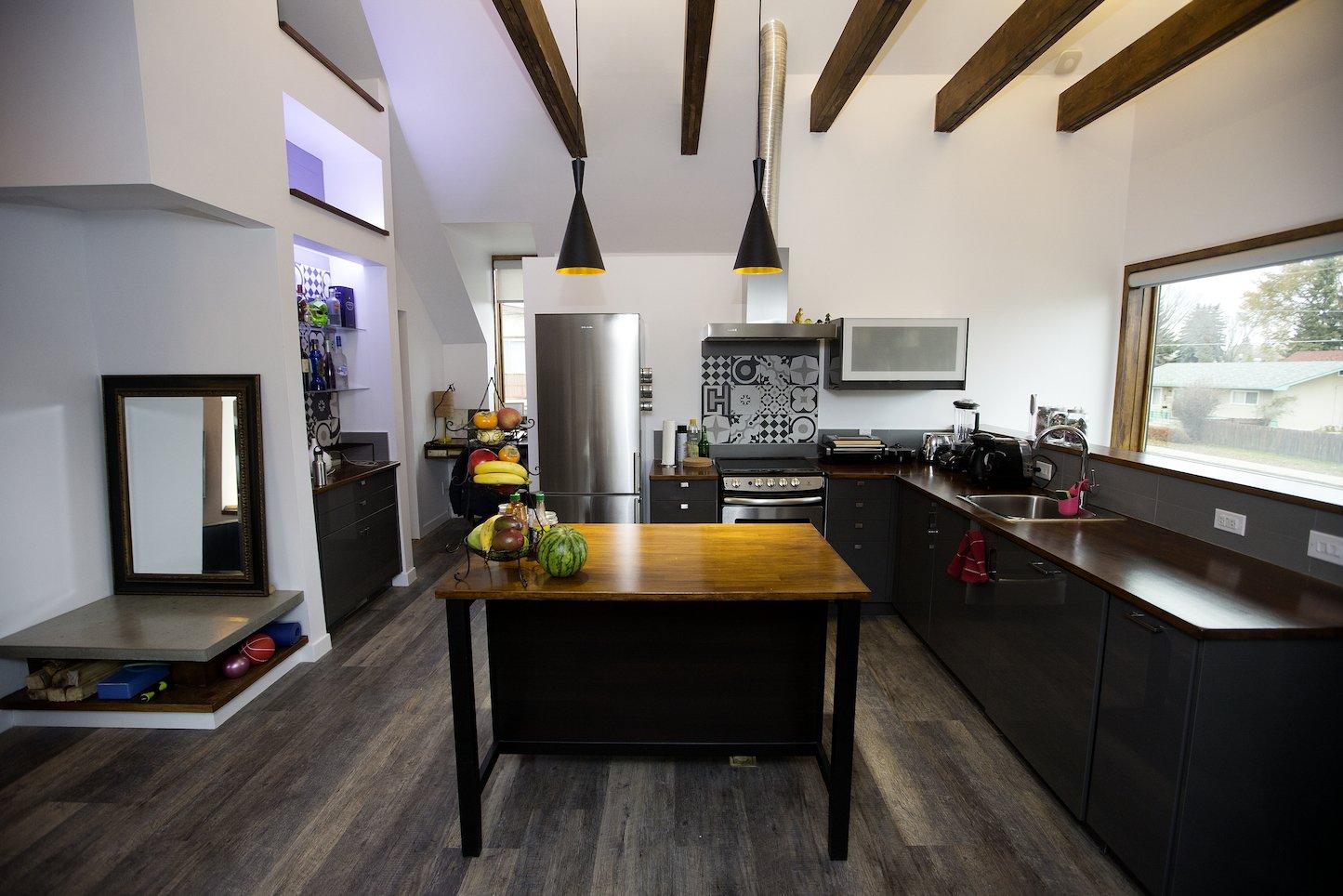Kitchen Calder - Interior 6 - Kitchen 2  Calder Laneway House - Edmonton