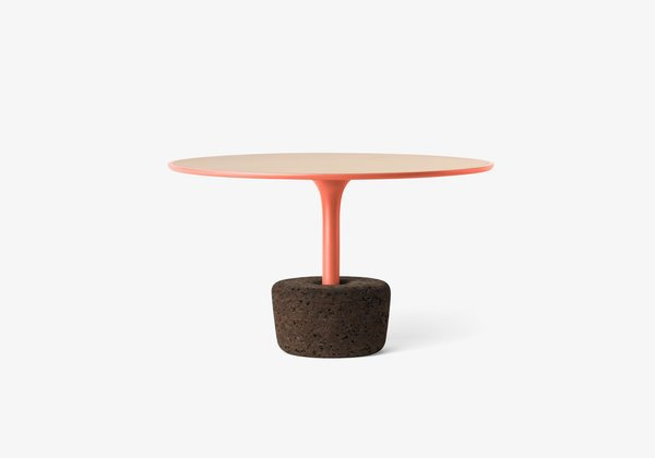 Flora Wide Tall  FLORA is a set of coffee tables that refers to the plants we offer to the ones we love, so there is a similarity between taking care of plants and taking care of the objects. These versatile tables combine natural materials, with four sizes and six different colored frame finishes and may be used separately or together.  Size  Ø65 x H38 cm / Ø25,6'' x H15''.  Weight  5,8 kg / 12,8 lbs.