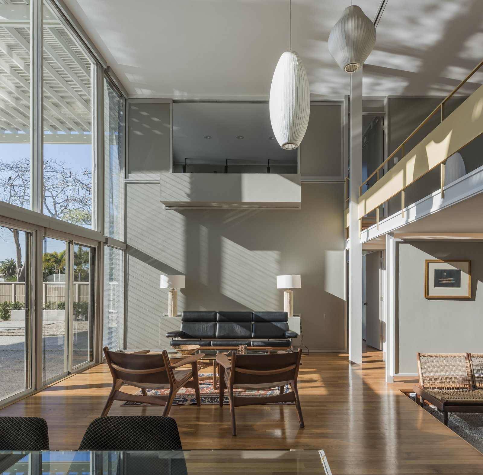 Windows, Sliding Window Type, and Wood Living room  Umbrella House