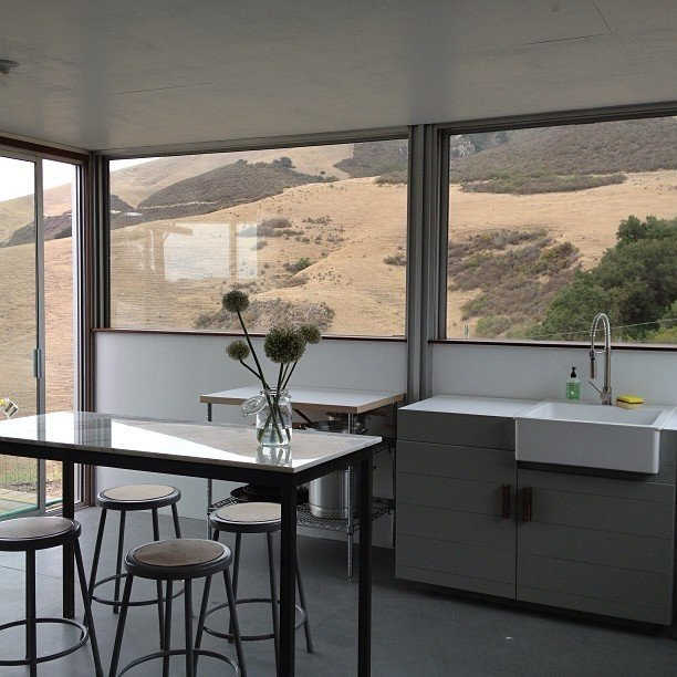Kitchen with a view  Barking Dog Ranch by kitHAUS