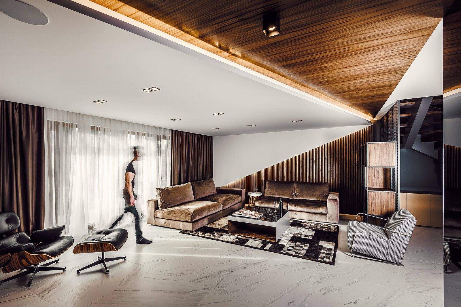 Front view of the Living room  #E6