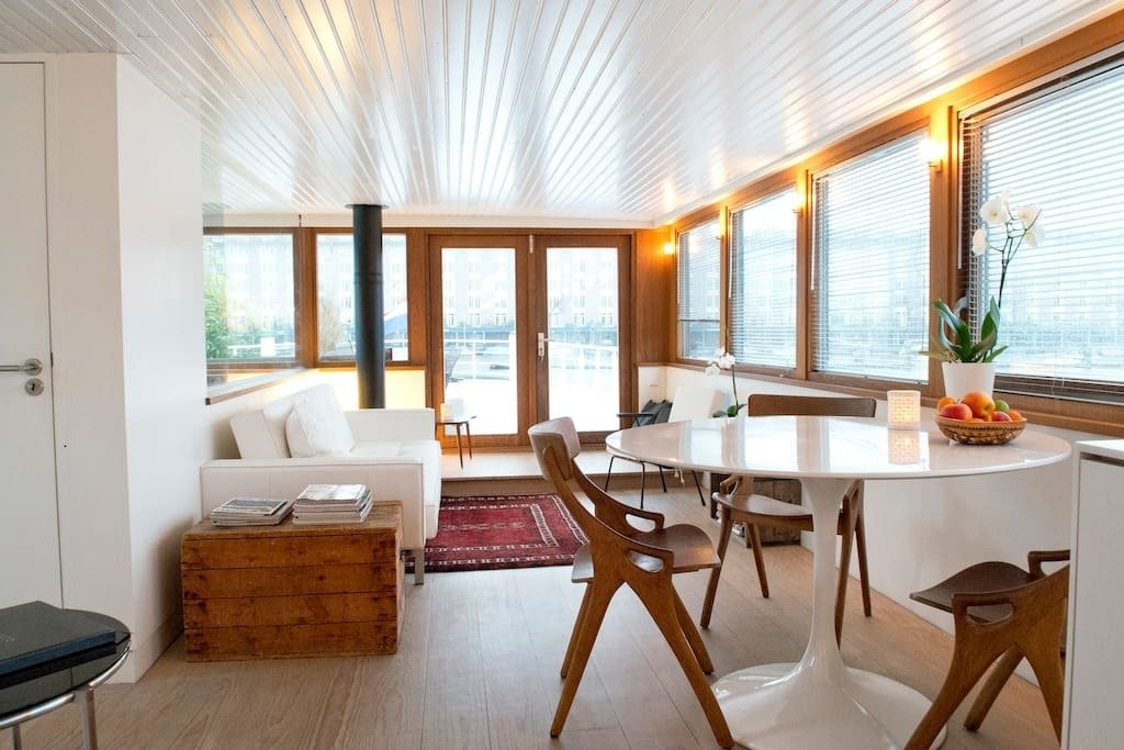 Photo 9 Of 11 In Make Yourself At Home In One Of These Small Spaces On Boats That You Can Rent Dwell