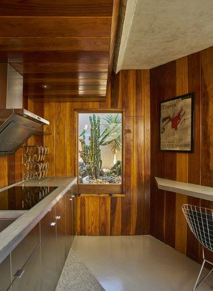 Sited in a remote desert residence built by Lautner almost 70 years ago, the property was commissioned by Hollywood movie producer Lucien Hubbard who wanted a holiday retreat where he could escape from L.A. with actress Mary Pickford.