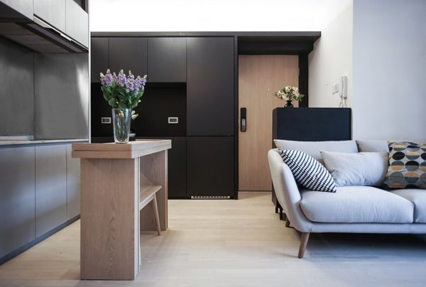 Photo 7 Of 11 In 10 Small Apartments By A Hong Kong Design