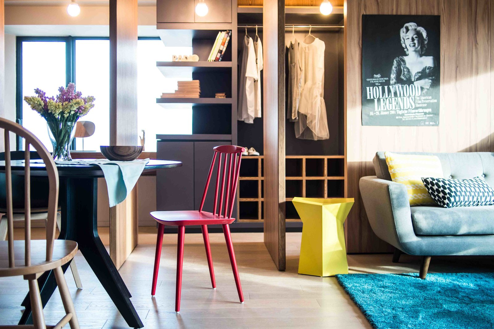 Photo 10 Of 11 In Small Apartments By A Hong Kong Design Studio That Are Less Than 1000 Square Feet