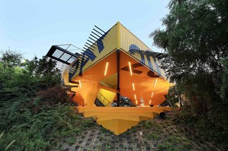 Discover 5 Public Buildings in South Korea Made Out of Shipping Containers