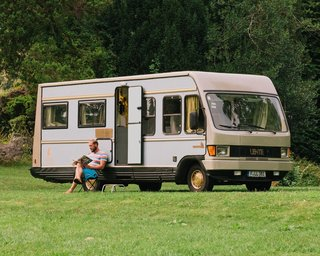 Frankfurt hospitality group Lindenberg has created a hotel room in a 1981 Mercedes camper. A great way to explore as much of the German countryside as you can, and a smart choice for those who want escape from the maddening crowds.