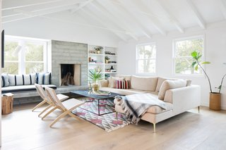 The owners of this 2,800-square-foot, remodeled ranch house in Del Mar wanted to incorporate the house's original ranch vibes as well as Scandinavian elements.