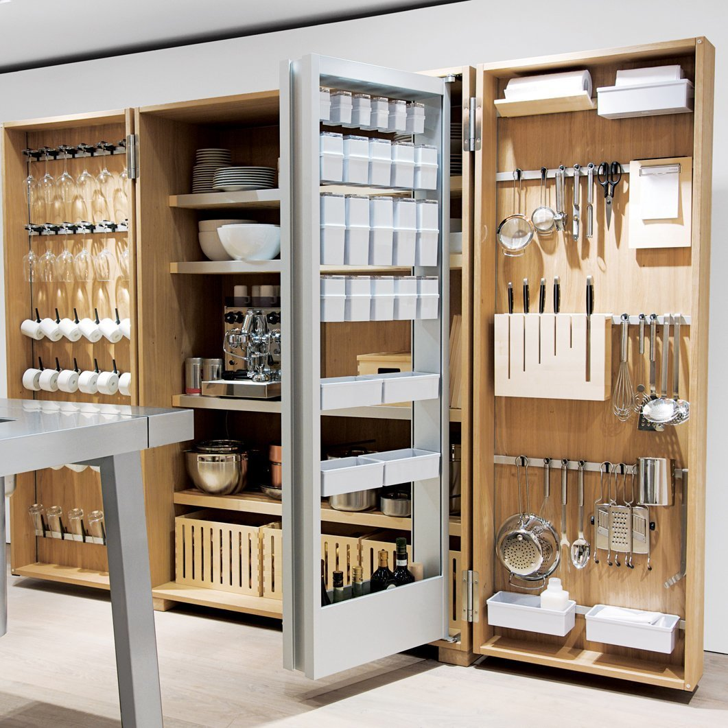 Storage Room and Cabinet Storage Type On/Off Monoblock by Boffi  Photo 6 of 7 in 7 Design Tips For a Chef-Worthy Kitchen