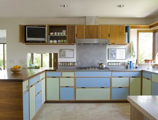 After a strategic remodel, this kitchen is now filled with natural light.