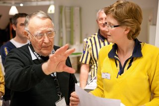 In 2013, at the age of 87, Kamprad stepped down from the company's board but continued to serve as the senior advisor, sharing his knowledge and experience with the IKEA team.