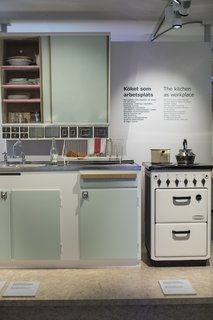 Kitchen exhibits at The IKEA Musuem in Älmhult.