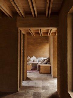 A corner lounge area.