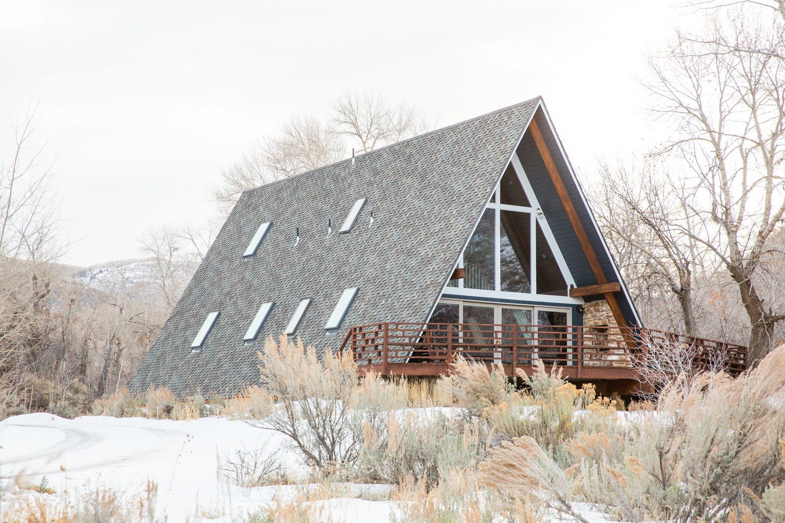 Before & After: An A-Frame Cabin Boasts Serious Scandinavian Vibes