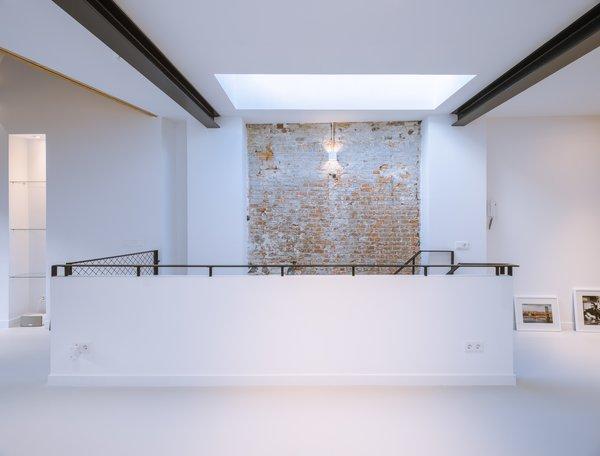 A versatile hallway on the upper level.