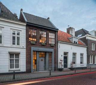 This 19th century workshop in the Netherlands was converted into a cool, modern apartment.