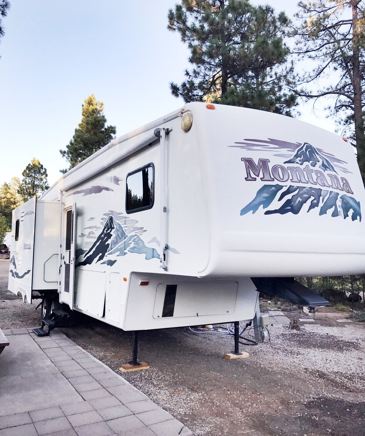 Exterior and Camper Building Type A Jayco Fifth Wheel camper.  Photo 15 of 16 in Hit the Road With This Chic Camper on Sale For $28K