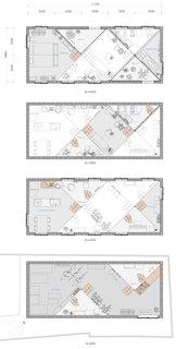 Floor plan drawings.