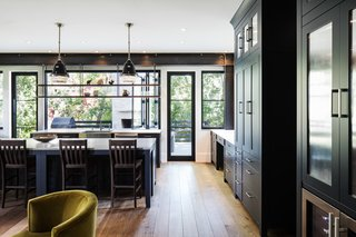 The kitchen features an elegant, rustic vibe.