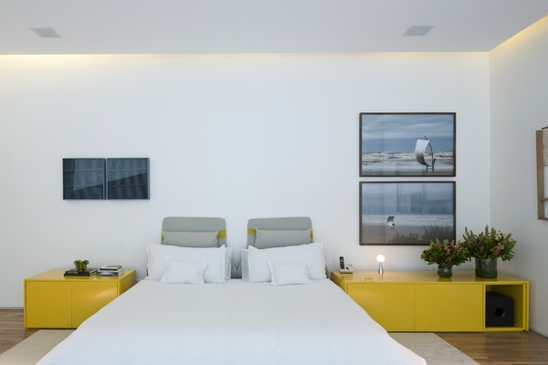 A closer look at one of the bedrooms.