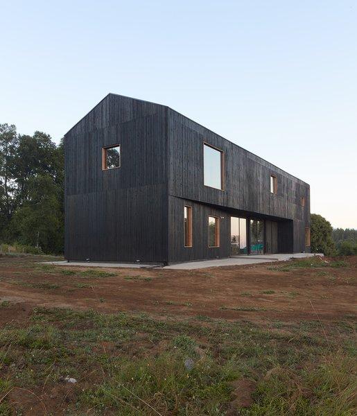 60+ Best Modern Exterior Gable Roofline Design Photos And