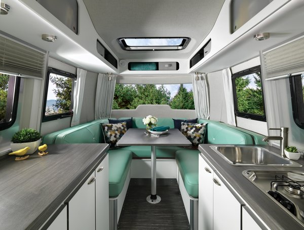 Weighing just 3,400 pounds, Airstream's Nest makes hitting the road for your next adventure a breeze. Did we mention the price starts at $45,900?
