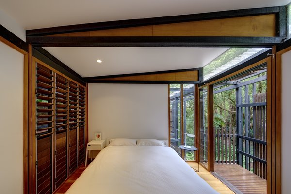 All the bedrooms have small balconies.