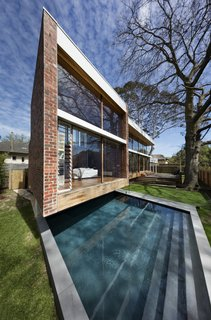 Insulated glass was used for the floor to ceiling windows.