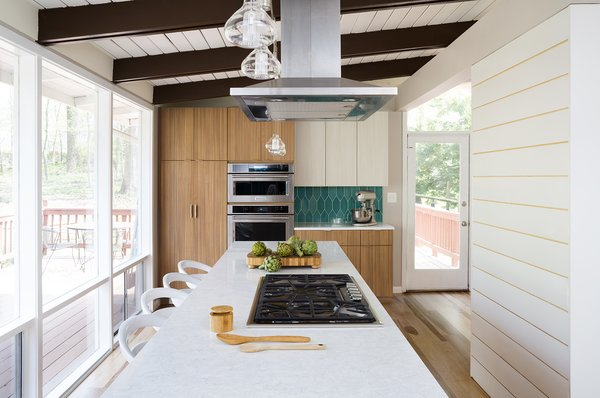 The Case team will document, measure and photograph your existing kitchen, review structural integrity and building restrictions, then present you three different design options using 3D virtual renderings, sketches, elevations, and even virtual reality videos, so you have a clear idea how your collaborative vision will look.
