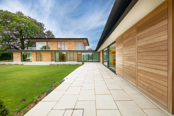 The design was a response to the homeowner's request for a bright, modern, and sustainable, four-bedroom home. The clients wanted open-plan living areas, a direct relationship to the garden, and thresholds that blur the boundaries between indoors and outdoors.