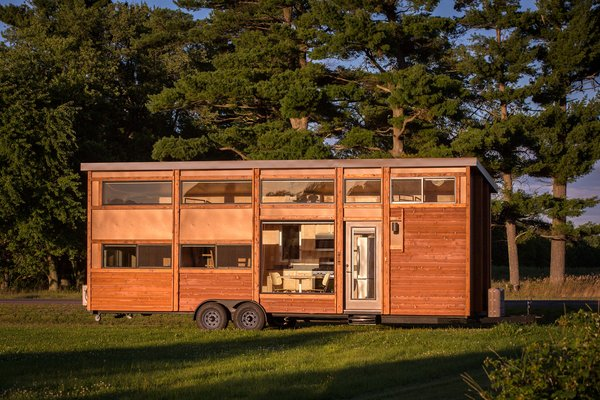 The award-winning tiny house builder ESCAPE has recently unveiled the first phase of Canoe Bay ESCAPE Village—a tiny home resort community in Northwest Wisconsin.