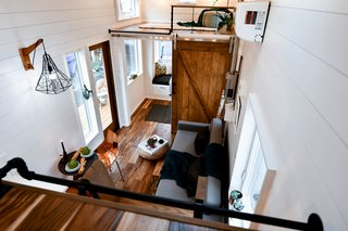 The second loft can hold two single mattresses.