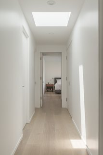 A sky-lit hallway.