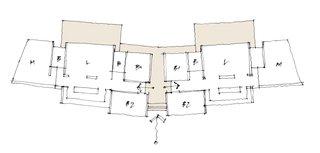The floor-plan drawing.