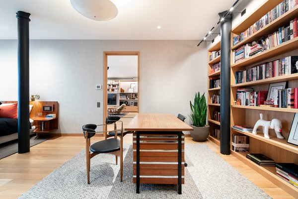 The Master Bedroom Has Enough E To Accommodate A Home Office Library And Lounge