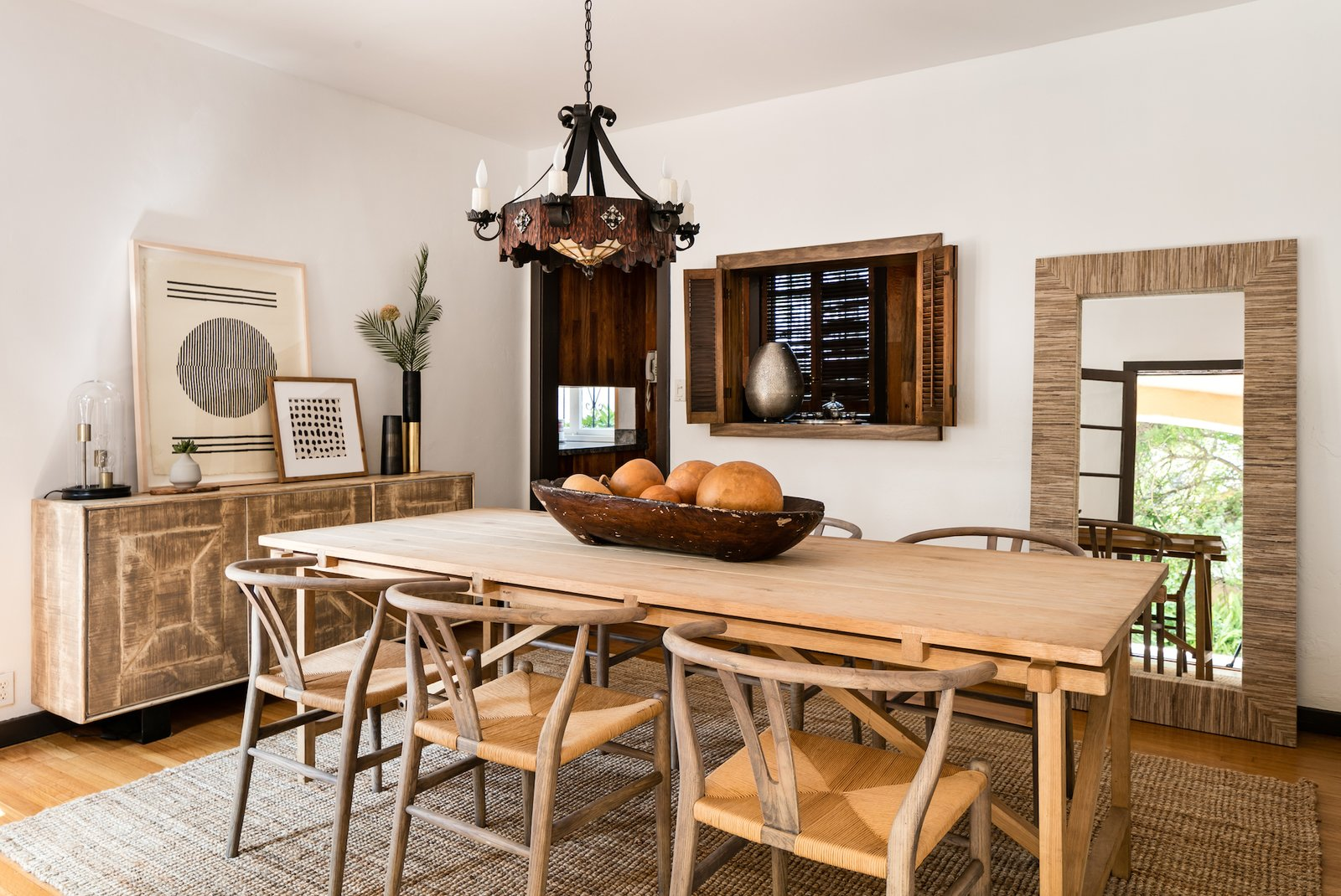 Spacious Spanish Revival, Dining Room In Spanish