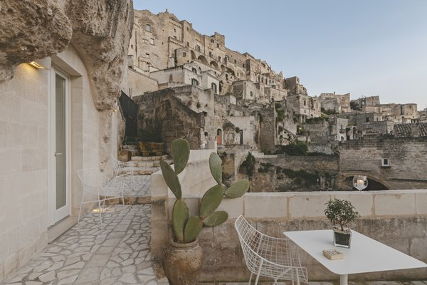 """The limestone rock is known locally as """"tufo"""" of tuff."""